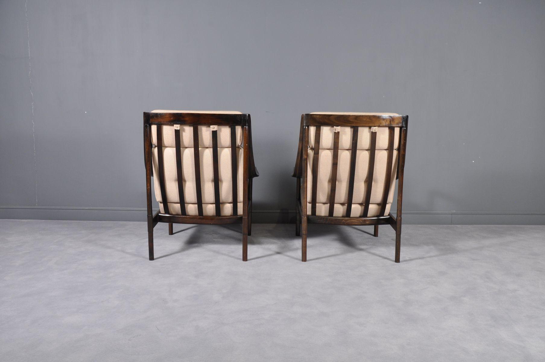 sessel mit gestell aus mahagoni hoher r ckenlehne von. Black Bedroom Furniture Sets. Home Design Ideas