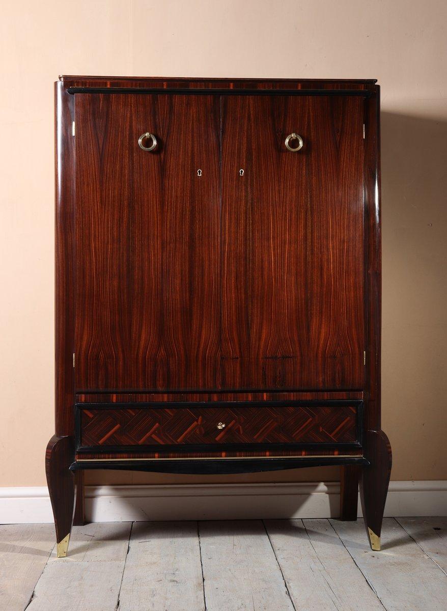 meuble art d co en b ne de macassar 1930s en vente sur. Black Bedroom Furniture Sets. Home Design Ideas