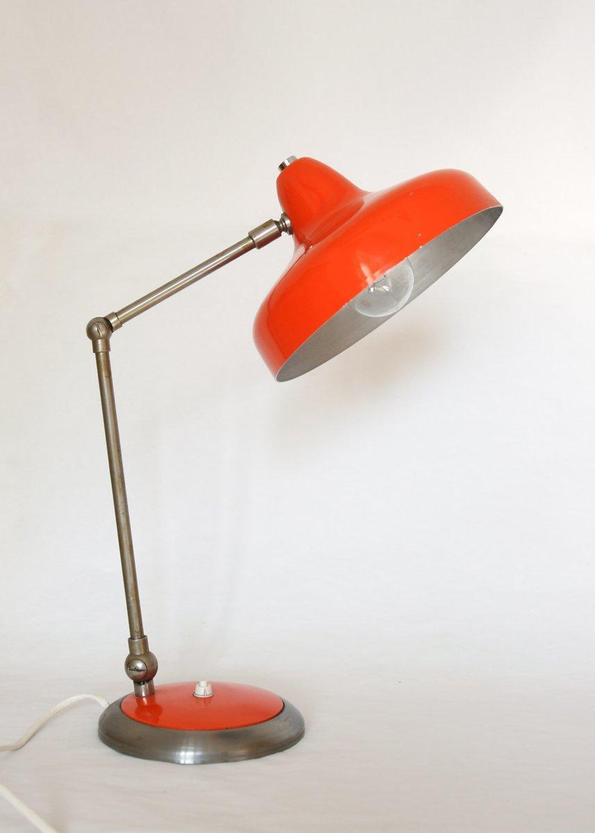 Zweiarmige Vintage Tischlampe, 1960er