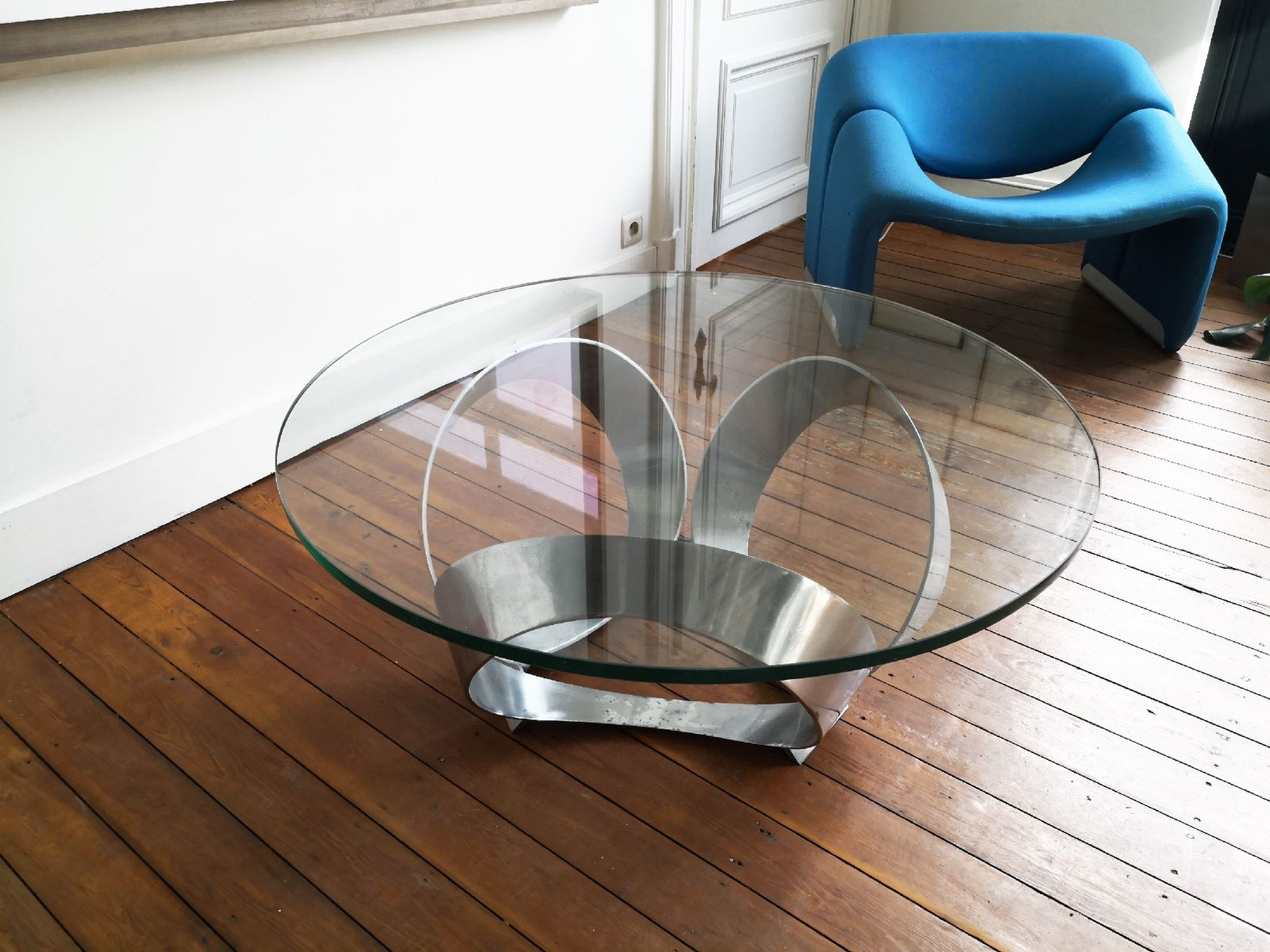 Vintage diamond coffee table by knut hesterberg for ronald for Ronald schmitt