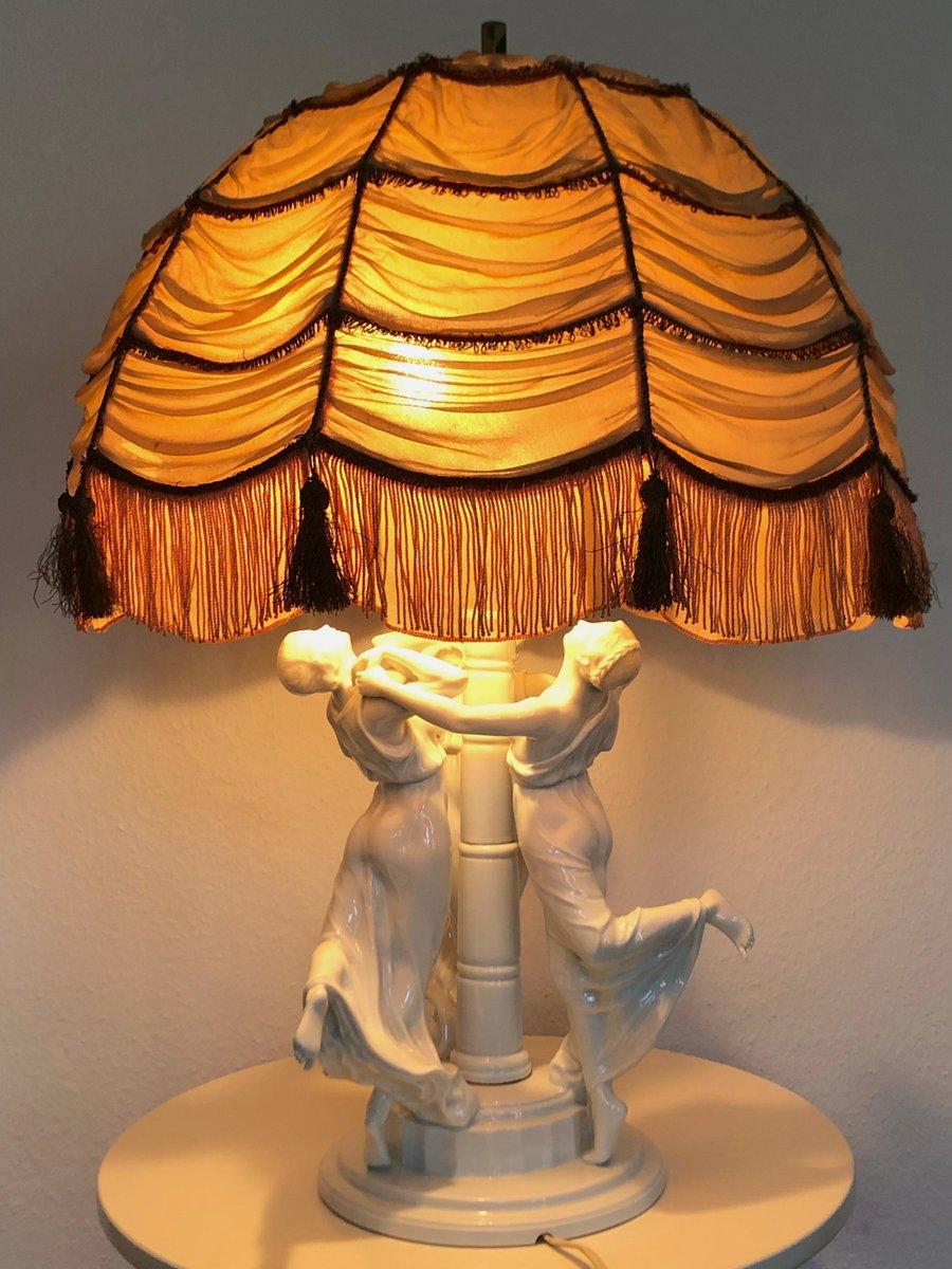 Art Nouveau Festreigen Table Lamp by K. Himmelstoss for Rosenthal, 191...
