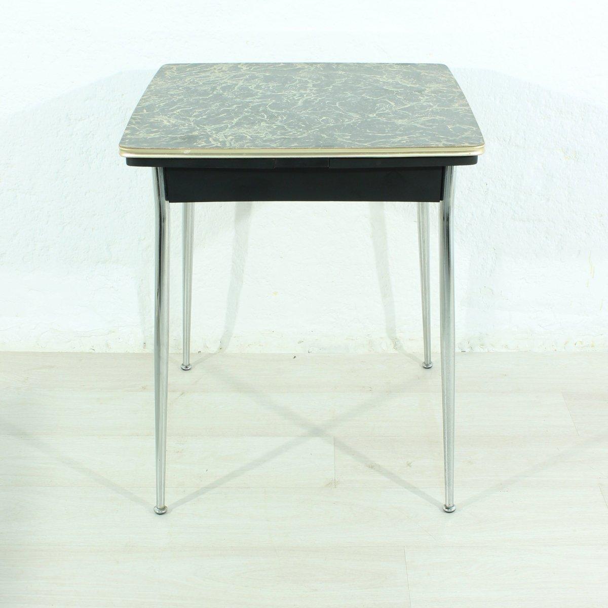 table de salle manger extensible 1950s en vente sur pamono. Black Bedroom Furniture Sets. Home Design Ideas