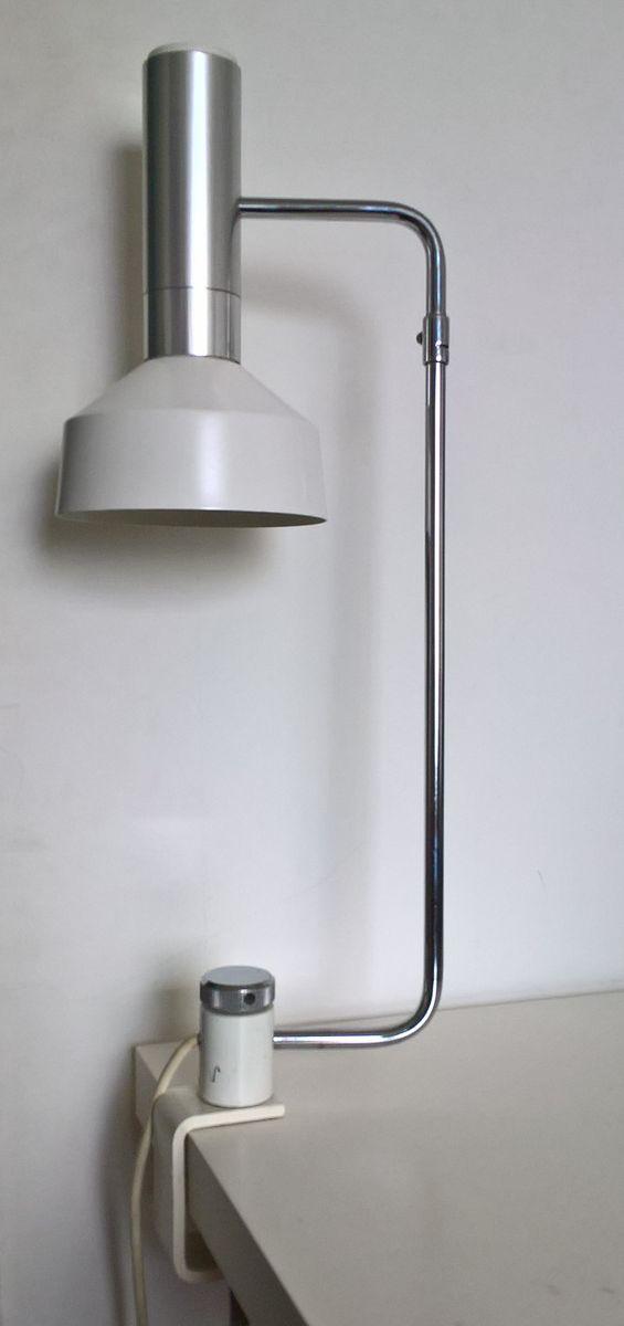 Weiße Minilux Tischlampe in der Schraubvariante von Rico & Rosmarie Ba...