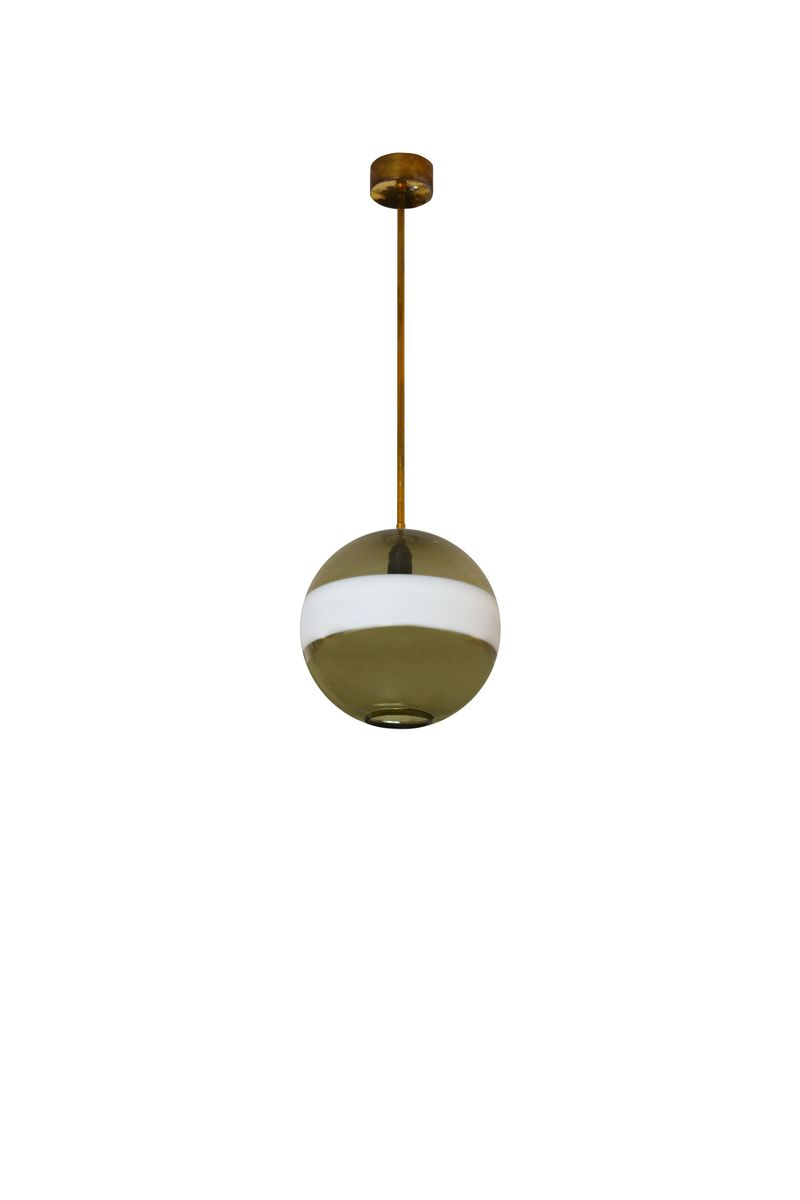 Vintage Pendant Lamp by Diaz de Santillana for Venini