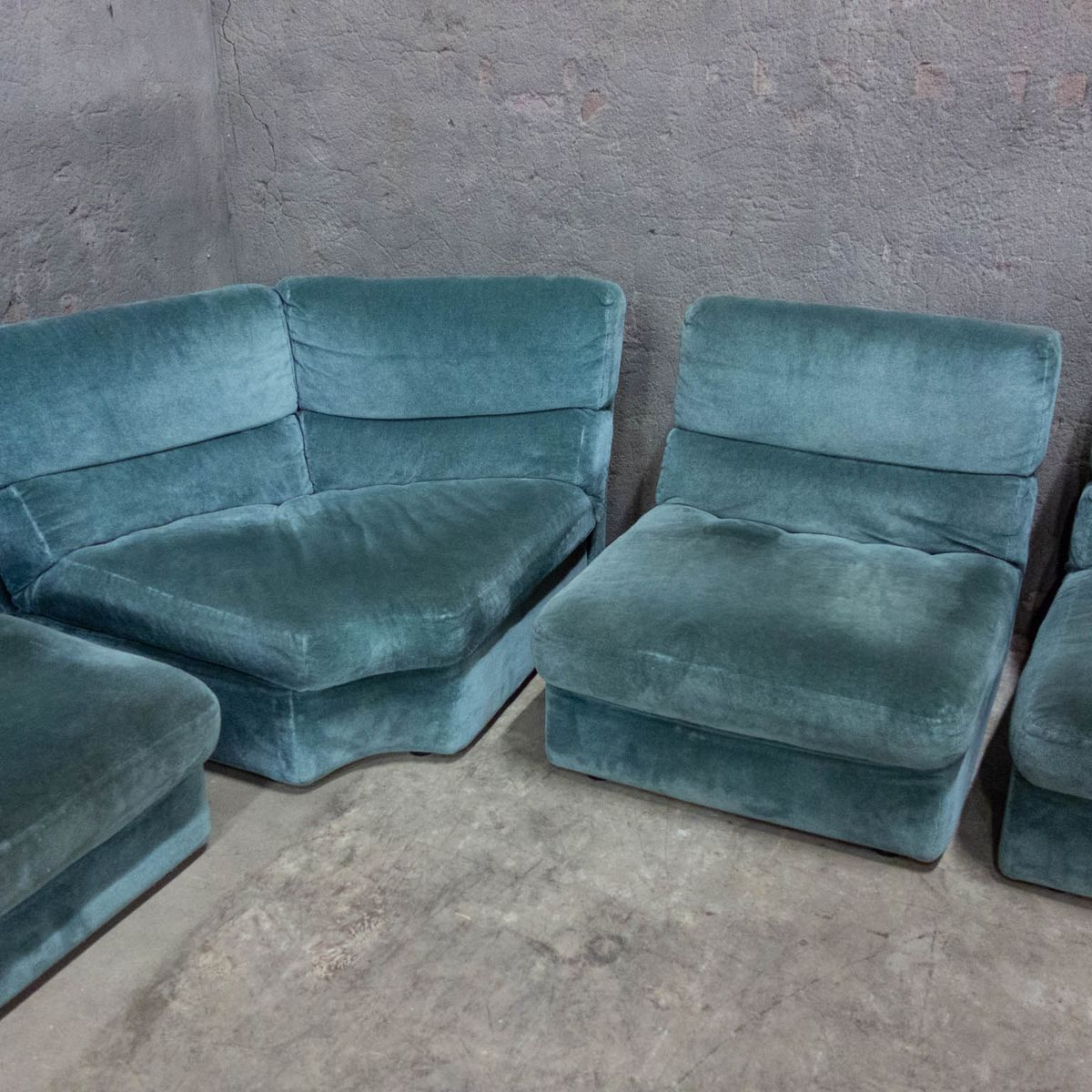 Modular 4 Piece Sofa From Rolf Benz, 1970s For Sale At Pamono