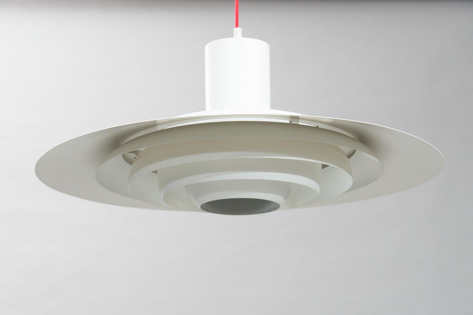 Large Pendant Lamp by Preben Fabricius & Jørgen Kastholm for Nordisk S...