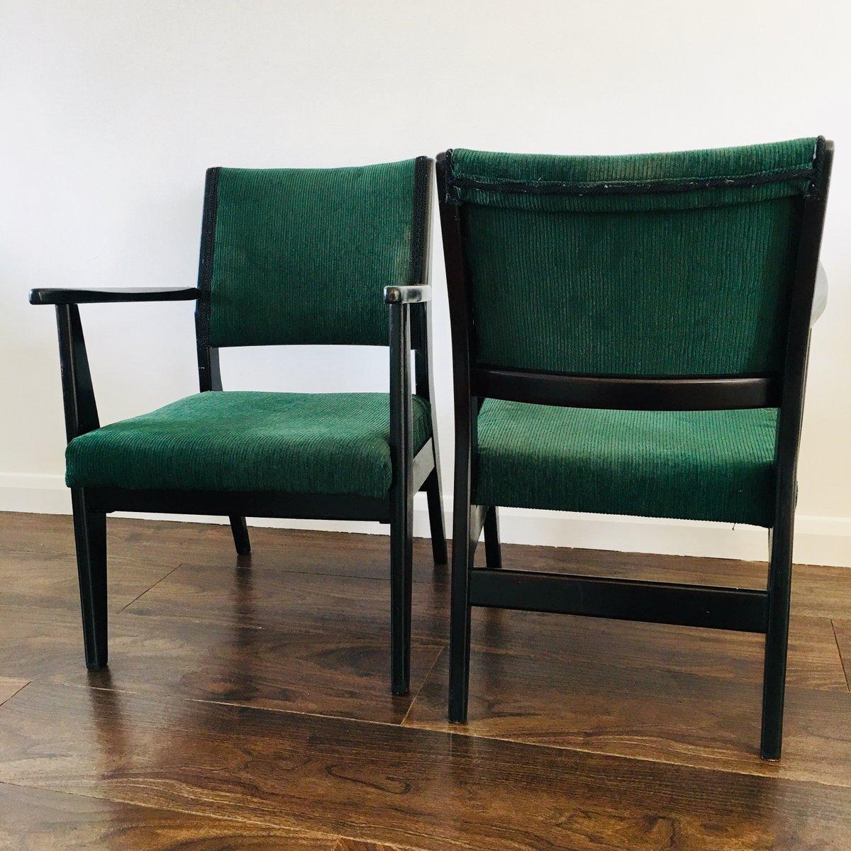 Mid Century Sessel 2er Set bei Pamono kaufen