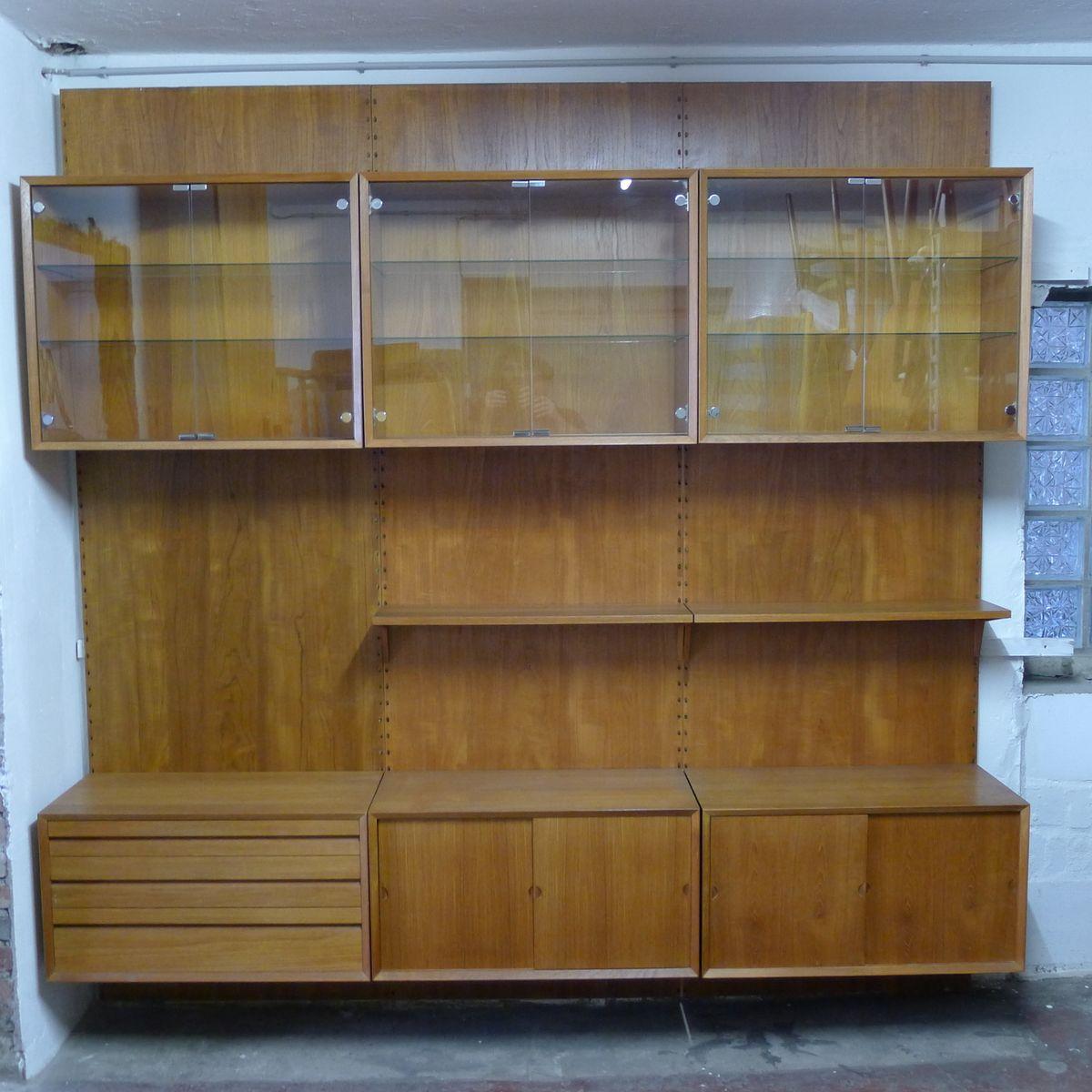 modulares mid century royal system regalsystem von poul cadovius f r cado bei pamono kaufen. Black Bedroom Furniture Sets. Home Design Ideas