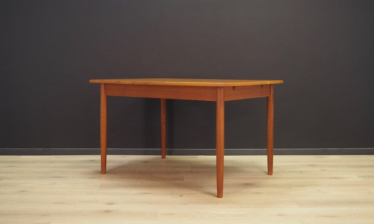 Dänischer Tisch aus Teak, 1970er