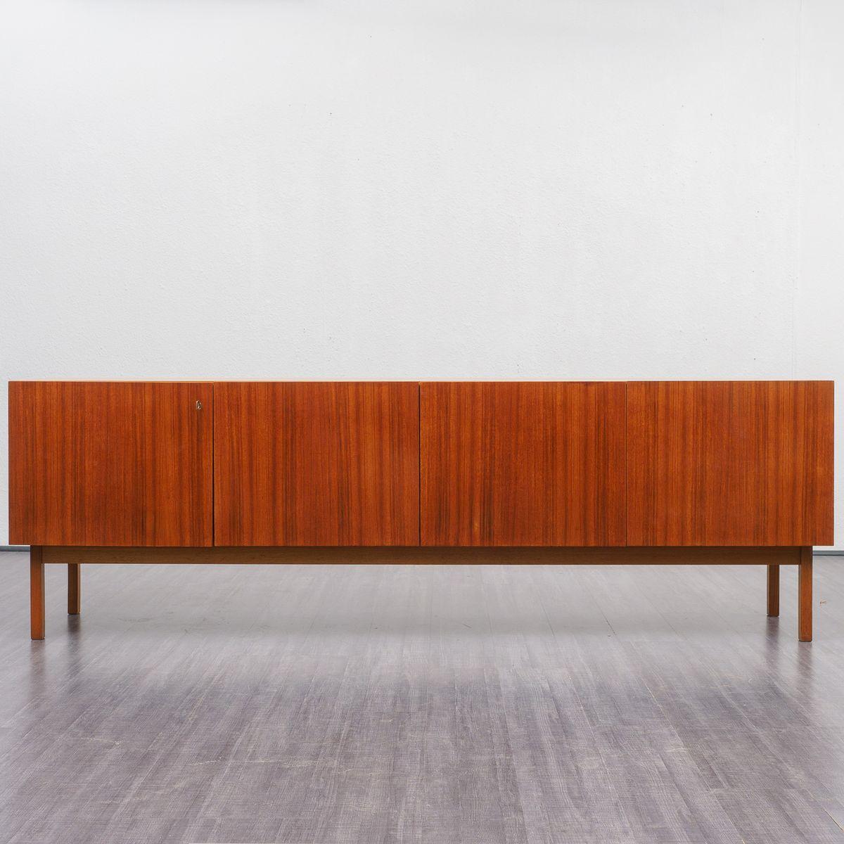 Großes Sideboard aus Teak von WK Möbel, 1960er