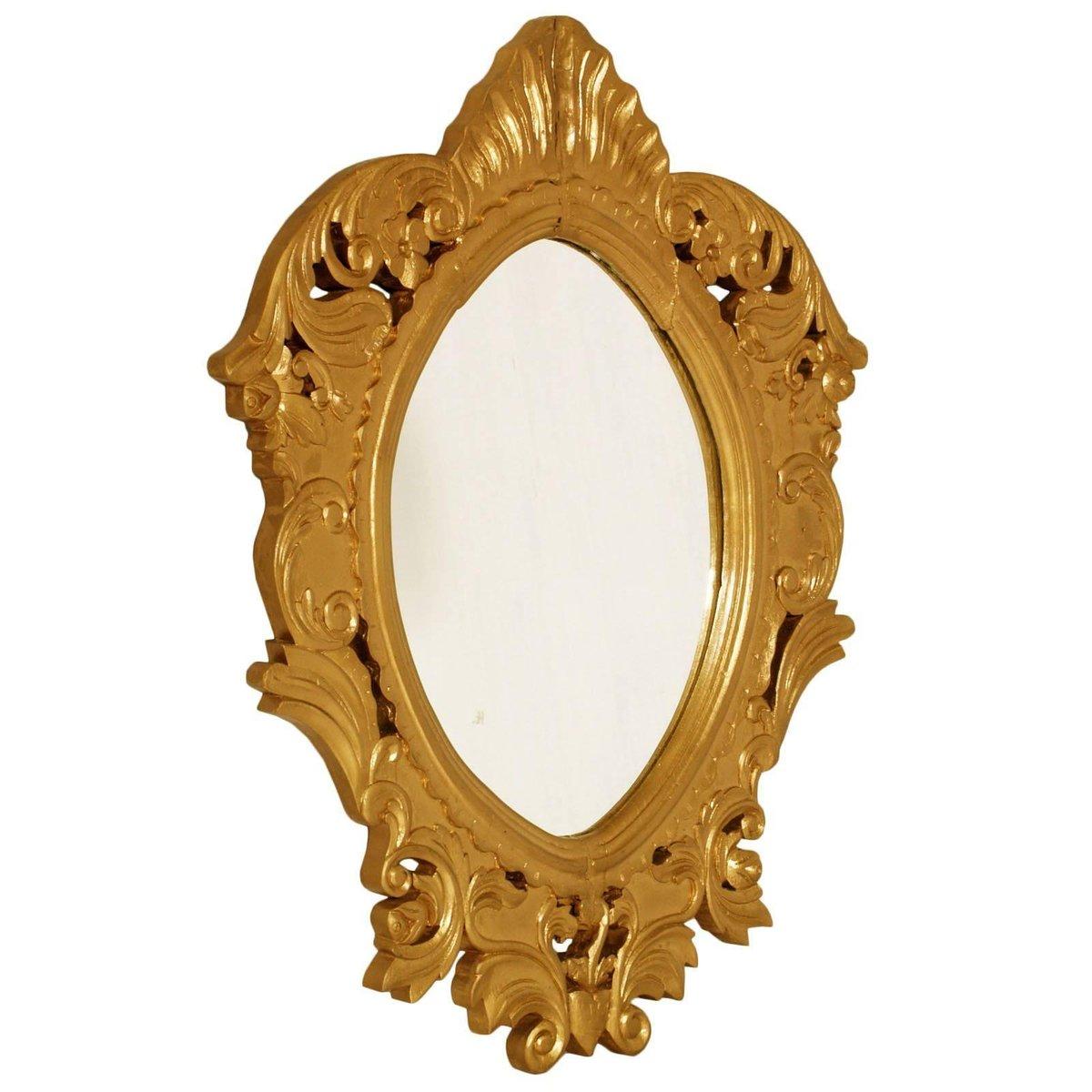miroir baroque en bois dor 1700s en vente sur pamono