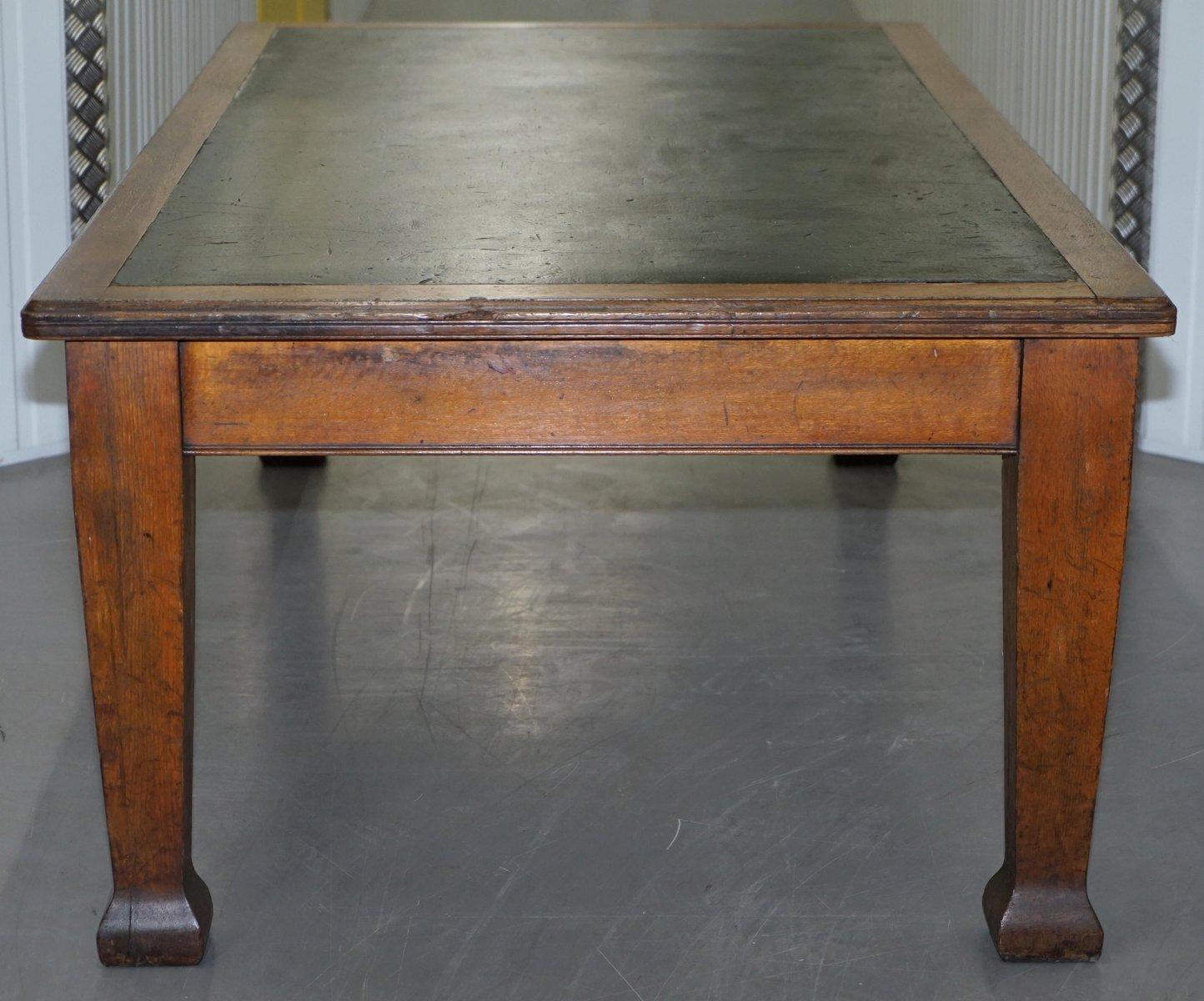 grande table de salle manger en ch ne massif 1900s en vente sur pamono. Black Bedroom Furniture Sets. Home Design Ideas