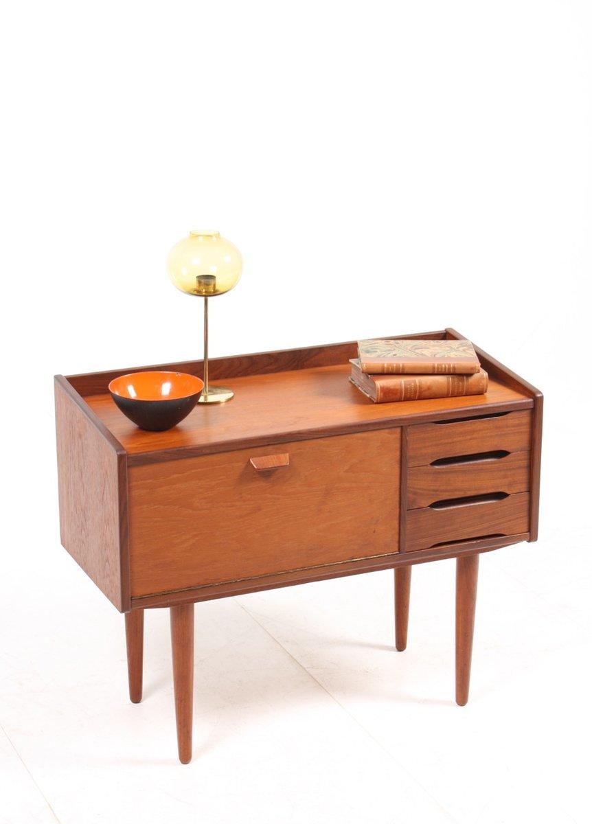 d nische mid century kommode aus teak 1950er bei pamono. Black Bedroom Furniture Sets. Home Design Ideas