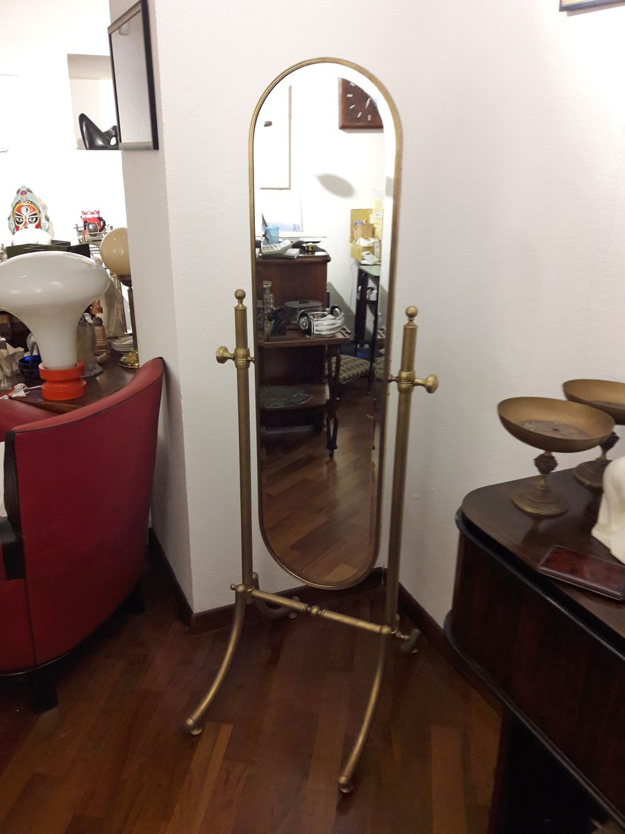 miroir plein pied vintage 1940s en vente sur pamono