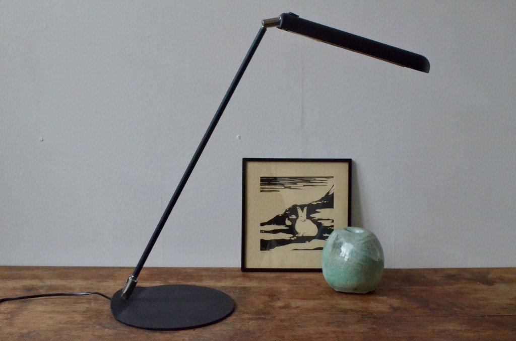 Minimalistische Vintage Schreibtischlampe von Autographe Paris