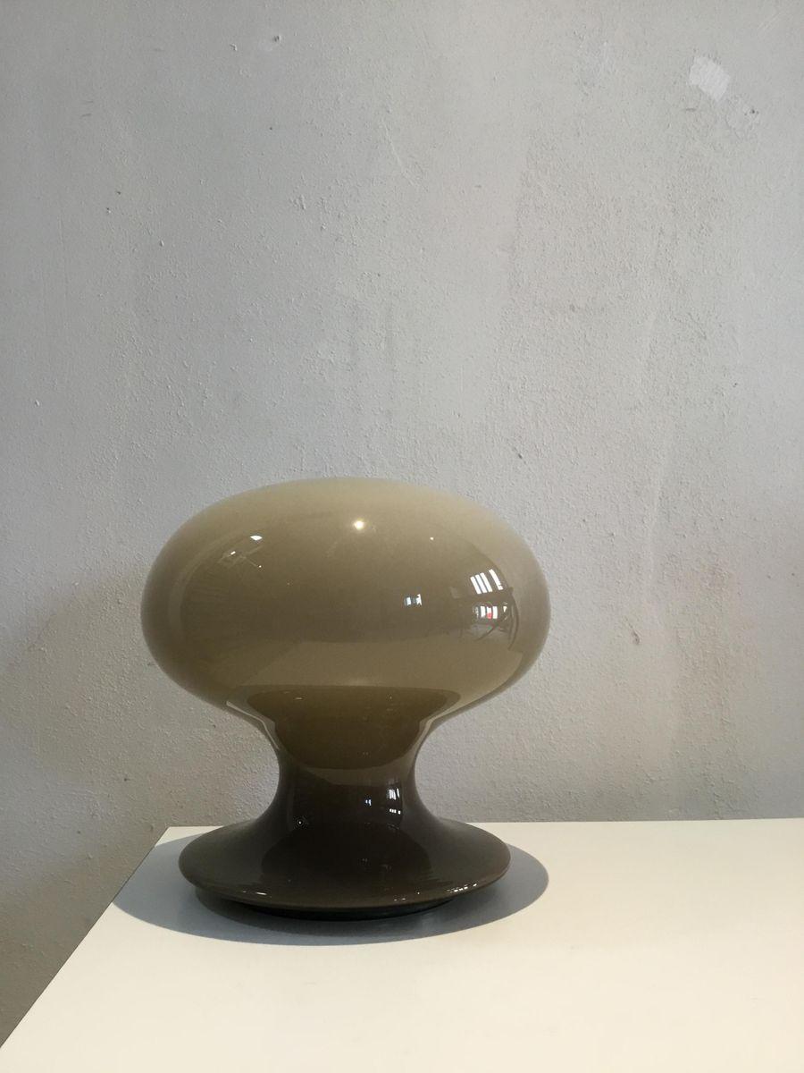 Murano Glass Mushroom Table Lamp from Vistosi, 1960s