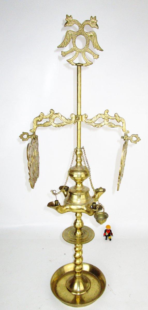 Antike spanische Öllampe im Renaissance Stil