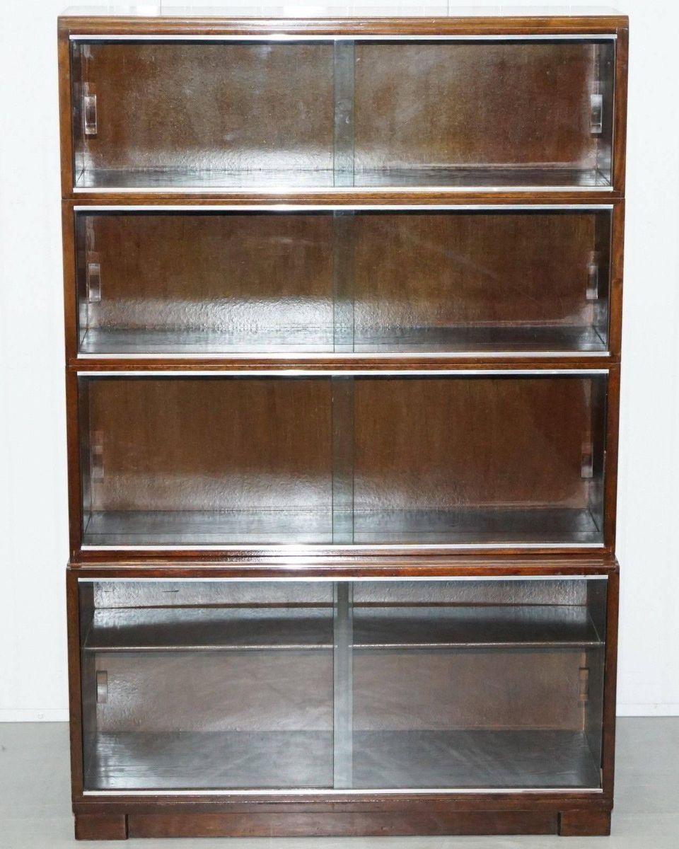 Mahogany Modular Bookcase From Minty 1950s