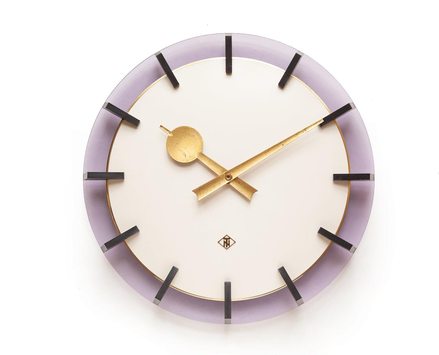 horloge murale lucent industrielle de t n 1960s en vente sur pamono