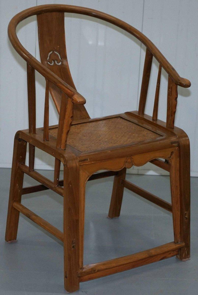 chinesische st hle mit lehne in hufen optik 1920er 2er. Black Bedroom Furniture Sets. Home Design Ideas