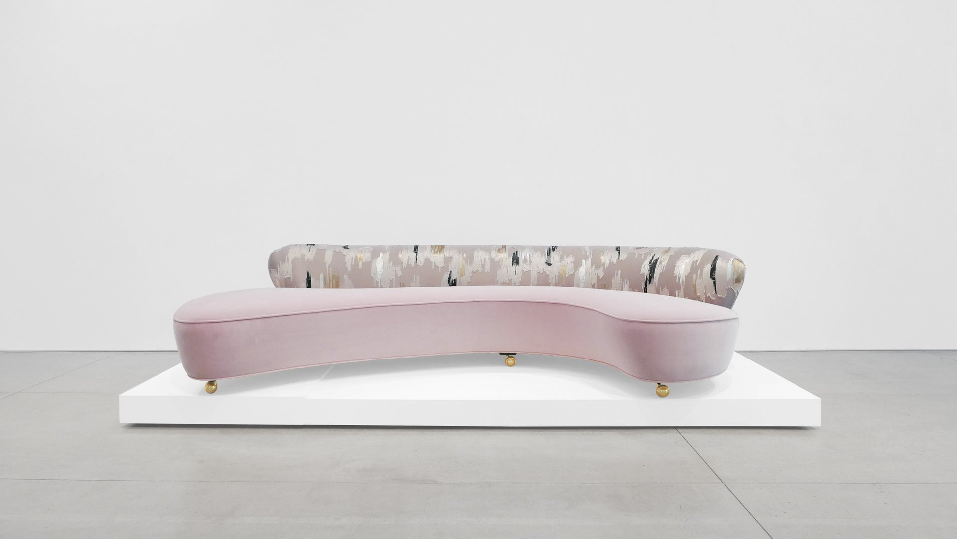 Serpentine Sofa By Vladimir Kagan 1950s For Sale At Pamono