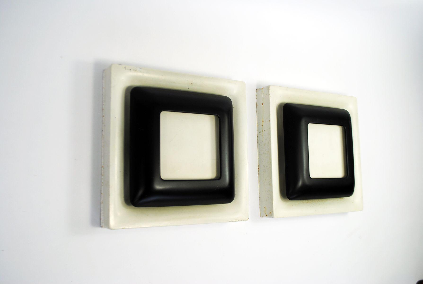 Wandlampen von Doria, 1970er, 2er Set