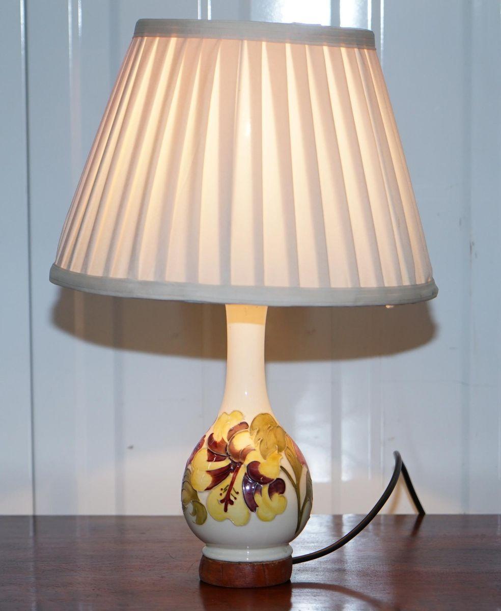Vintage Vasenlampen von Moorcroft, 1920er, 2er Set