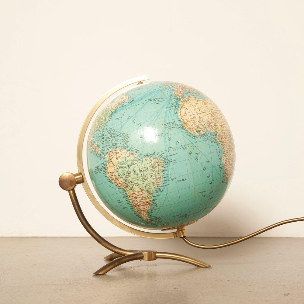 Globus aus Glas von Paul Oestergaard für Columbus Verlag DUO Erdglobus...
