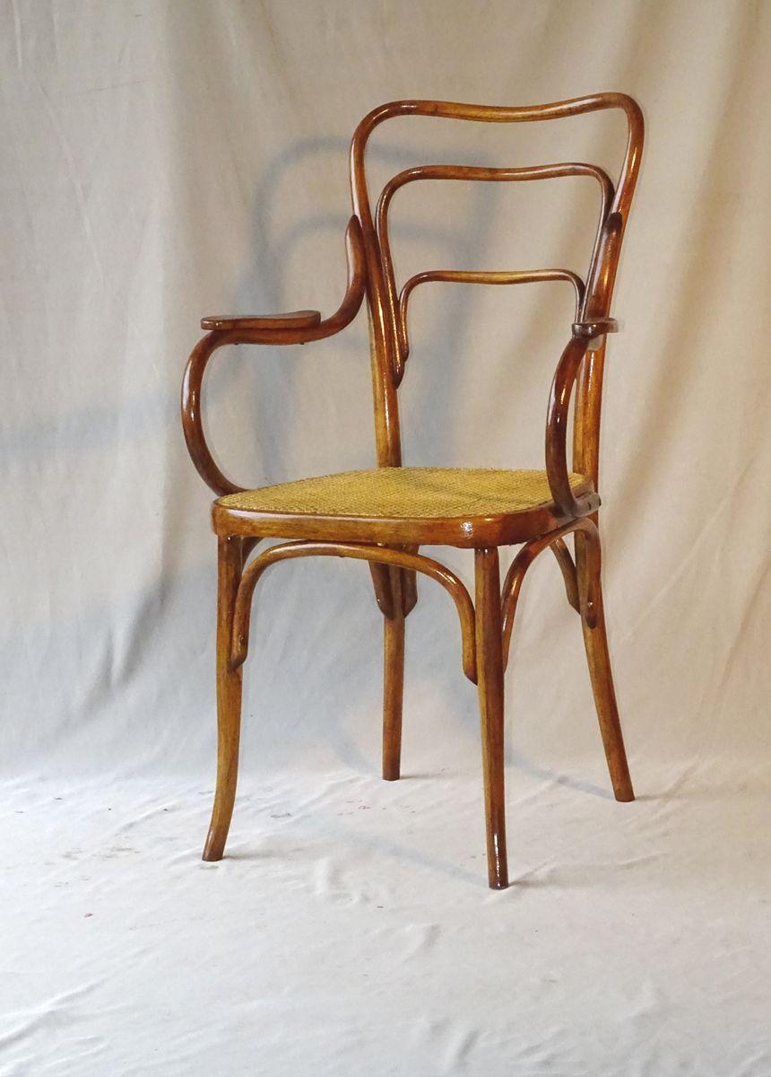 fauteuil 248 a art nouveau de jacob josef kohn 1910s en vente sur pamono. Black Bedroom Furniture Sets. Home Design Ideas
