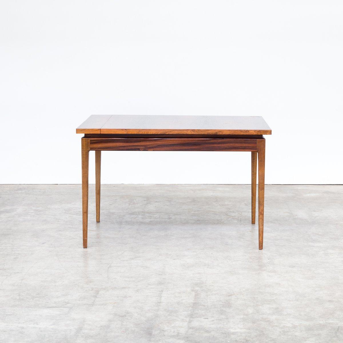 ausziehbarer esstisch aus holz 1970er bei pamono kaufen. Black Bedroom Furniture Sets. Home Design Ideas
