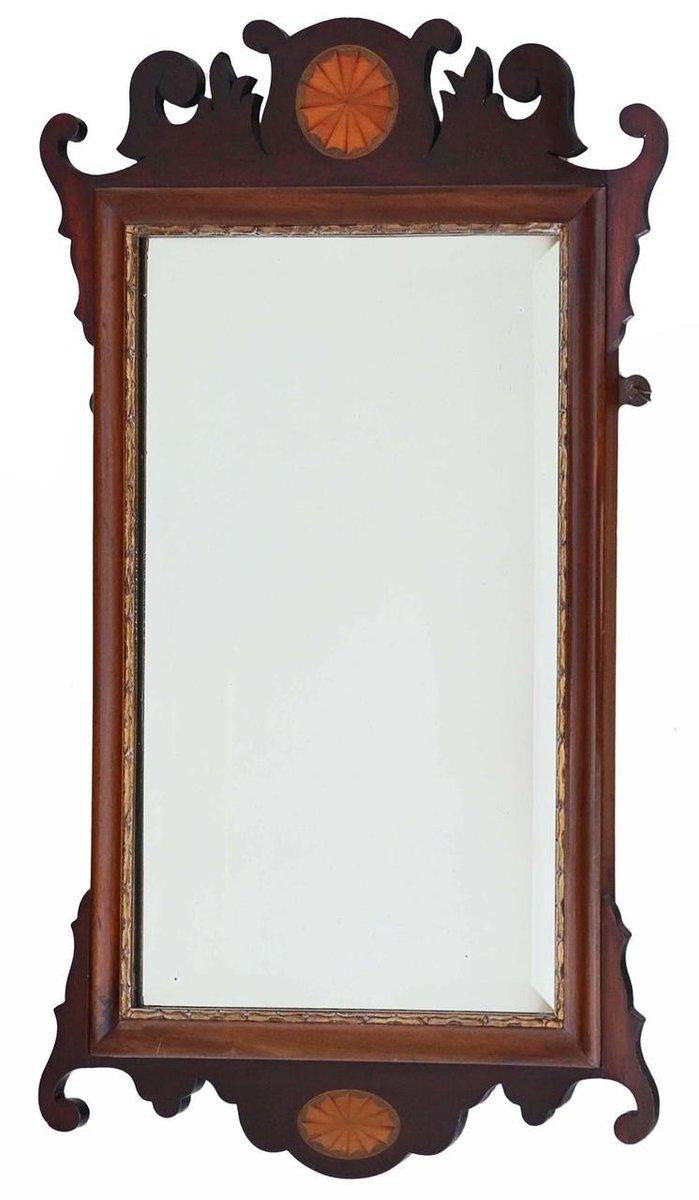 antiker neogeorgianischer wandspiegel mit rahmen aus. Black Bedroom Furniture Sets. Home Design Ideas