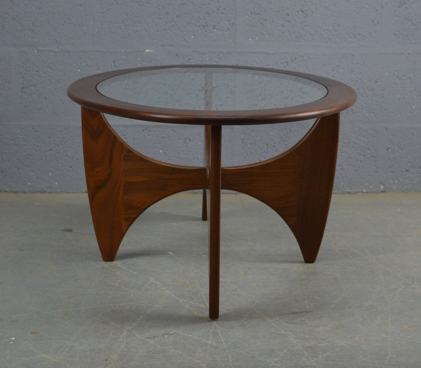 Oval Coffee Table Plans: Mid-Century Oval Teak Astro Coffee Table By Victor Wilkins