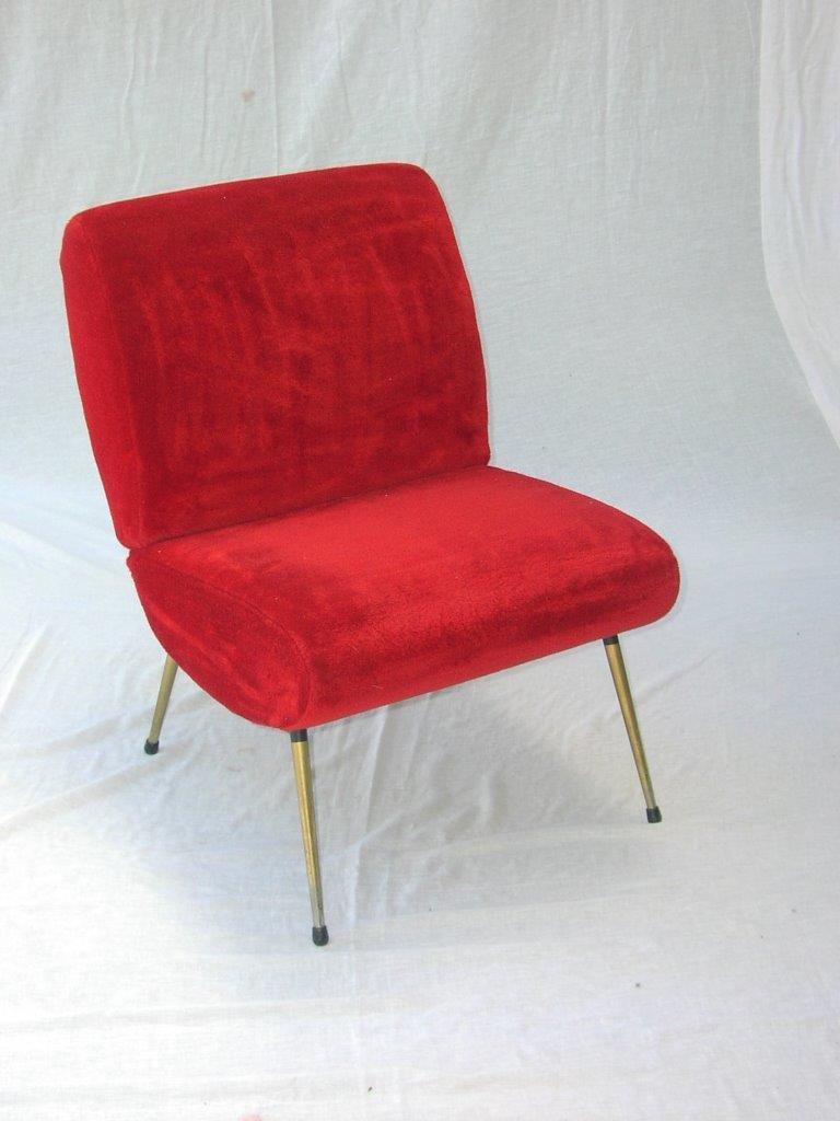 Mid-Century Kiss Stuhl von Pelfran, 1960er