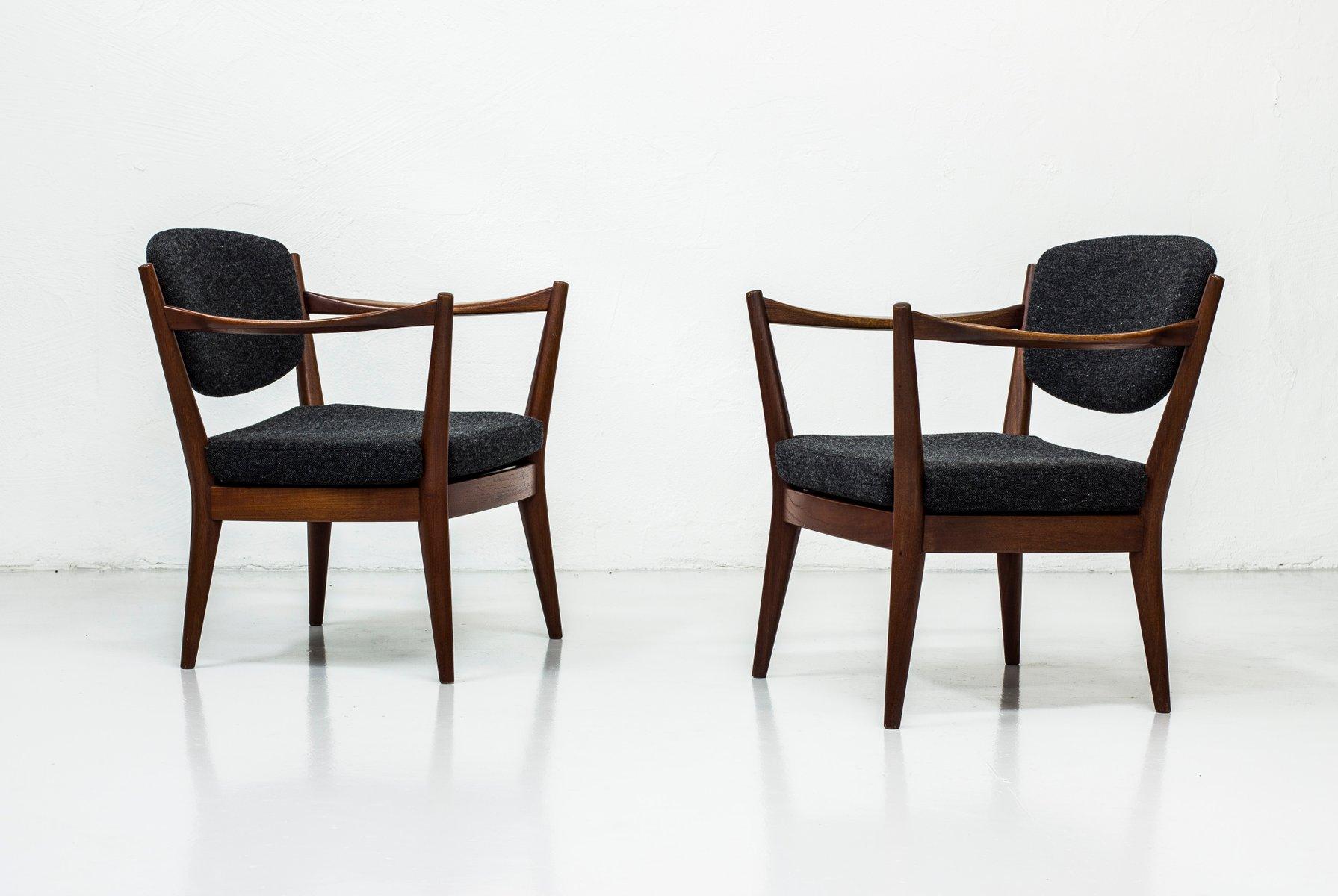 Norwegische Kaminstolen Stühle von Fredrik Kayser & Adolf Relling für ...