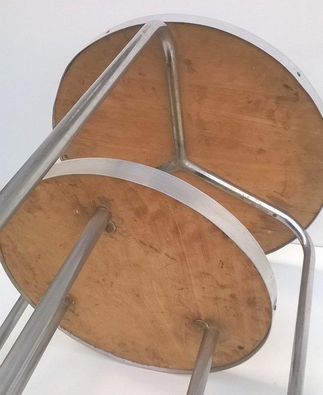 runder tisch von marcel breuer f r columbus 1930er bei pamono kaufen. Black Bedroom Furniture Sets. Home Design Ideas