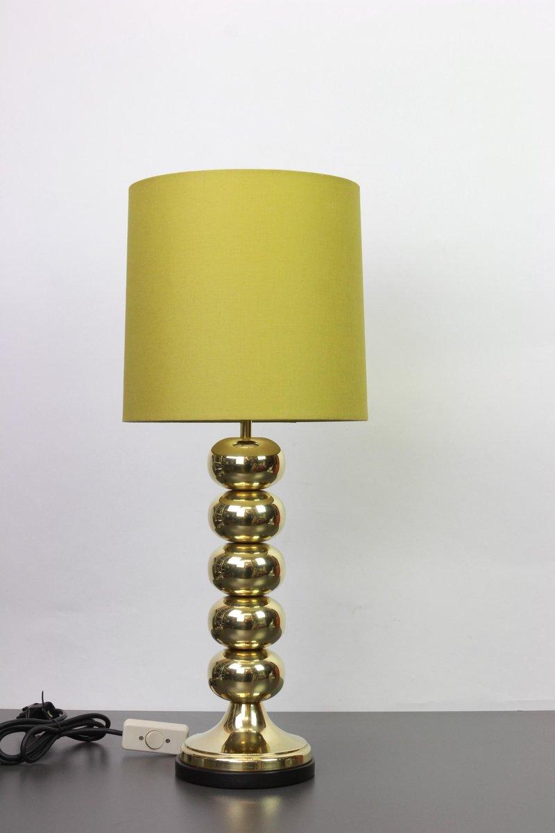 Mid-Century Tischlampen aus Messing von Uno Dahlen, 1960er, 2er Set