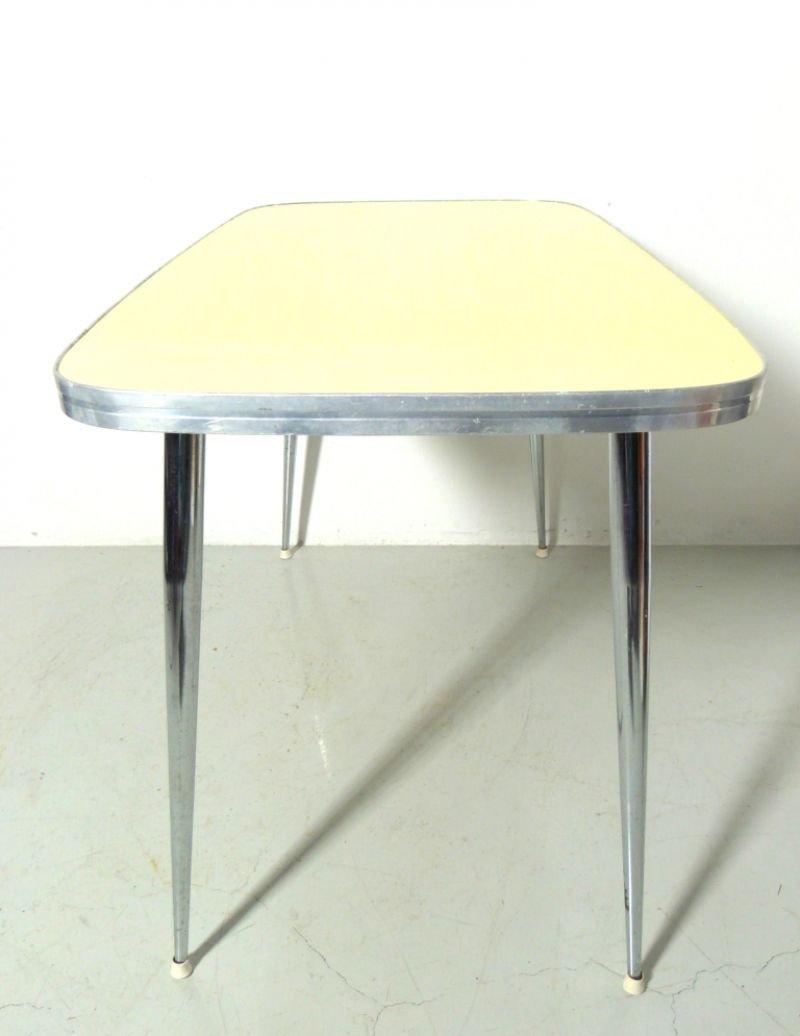 table mid century en formica 1960s en vente sur pamono. Black Bedroom Furniture Sets. Home Design Ideas