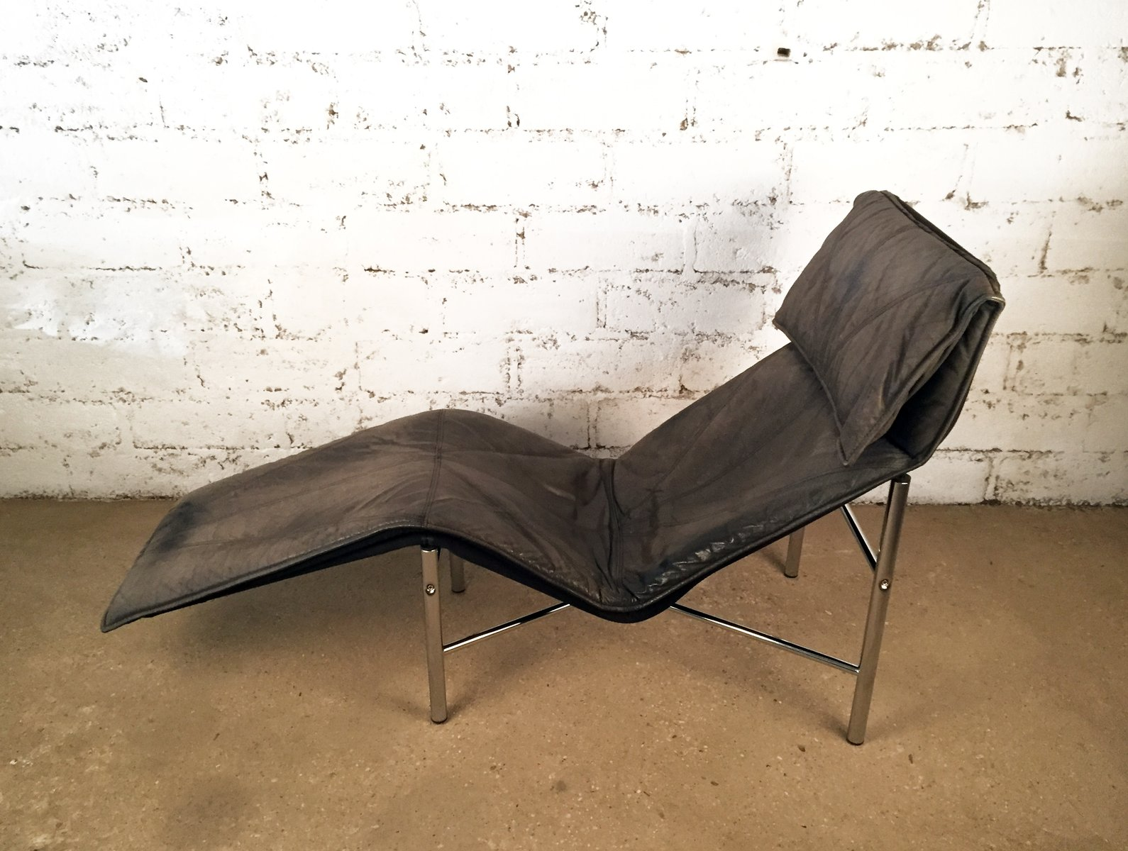 Skye chaise longue by tord bj rklund for ikea 1980s for sale at pamono - Chaise noire ikea ...