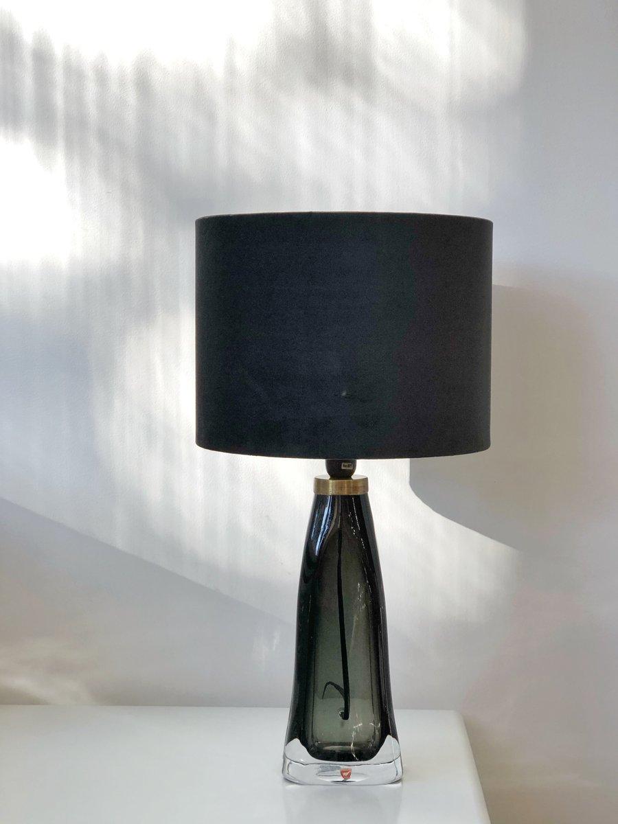 Grüne RD-1323 Tischlampen aus Glas von Carl Fagerlund für Orrefors, 19...