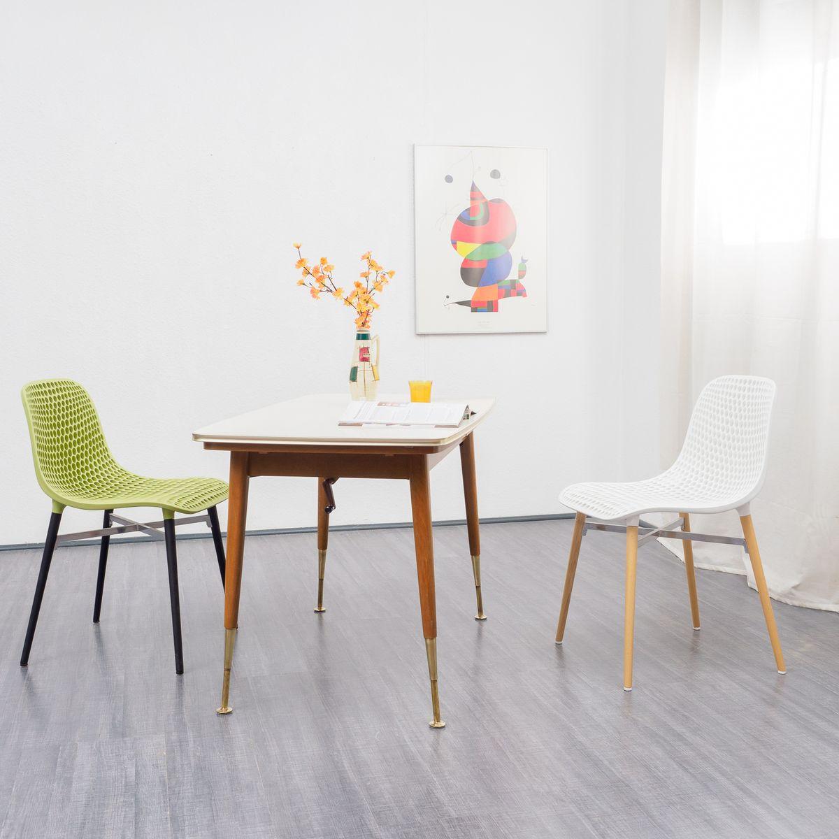 table de salle manger extensible hauteur ajustable. Black Bedroom Furniture Sets. Home Design Ideas