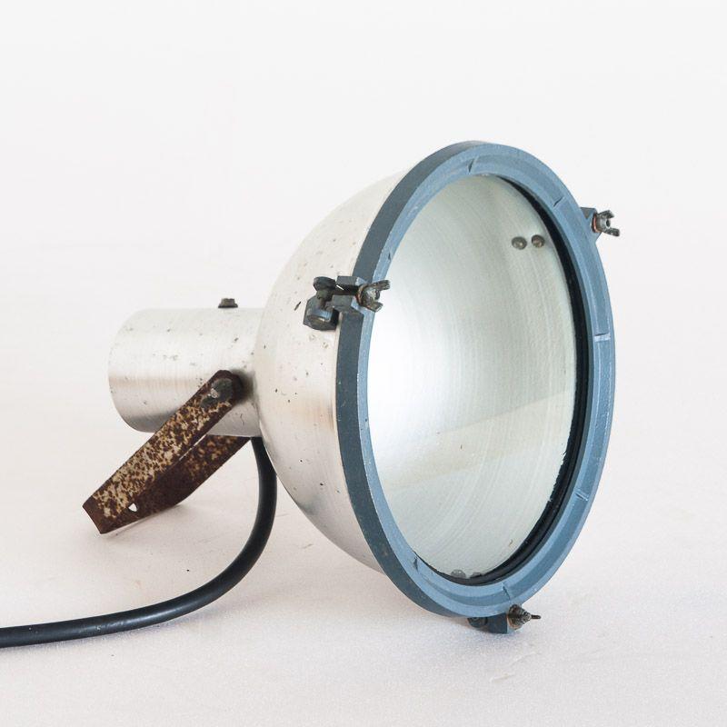 Industrielle spanische Lampe, 1970er