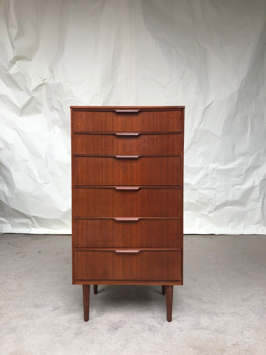 Vintage Teak Tallboy Chest of Drawers from Austinsuite, 1970s