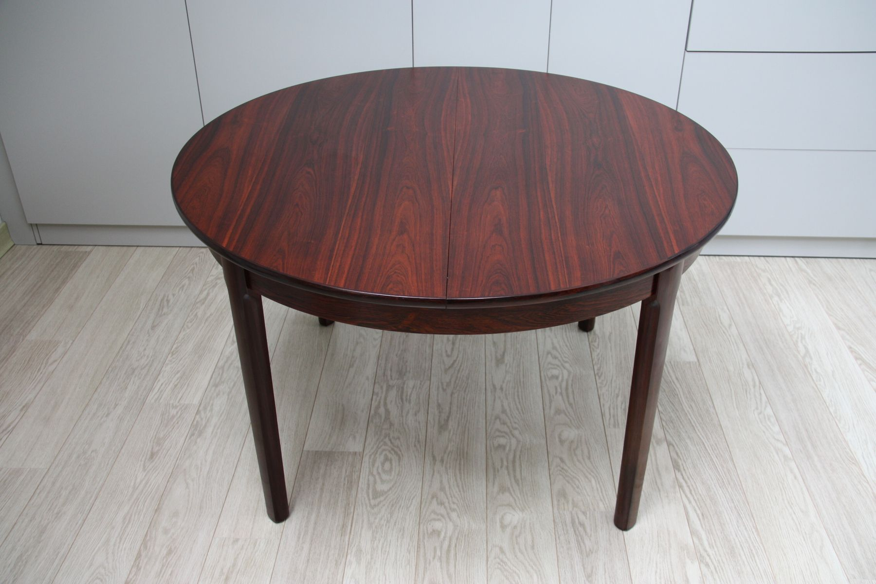 Danish Rosewood Extendable Dining Table, 1960s