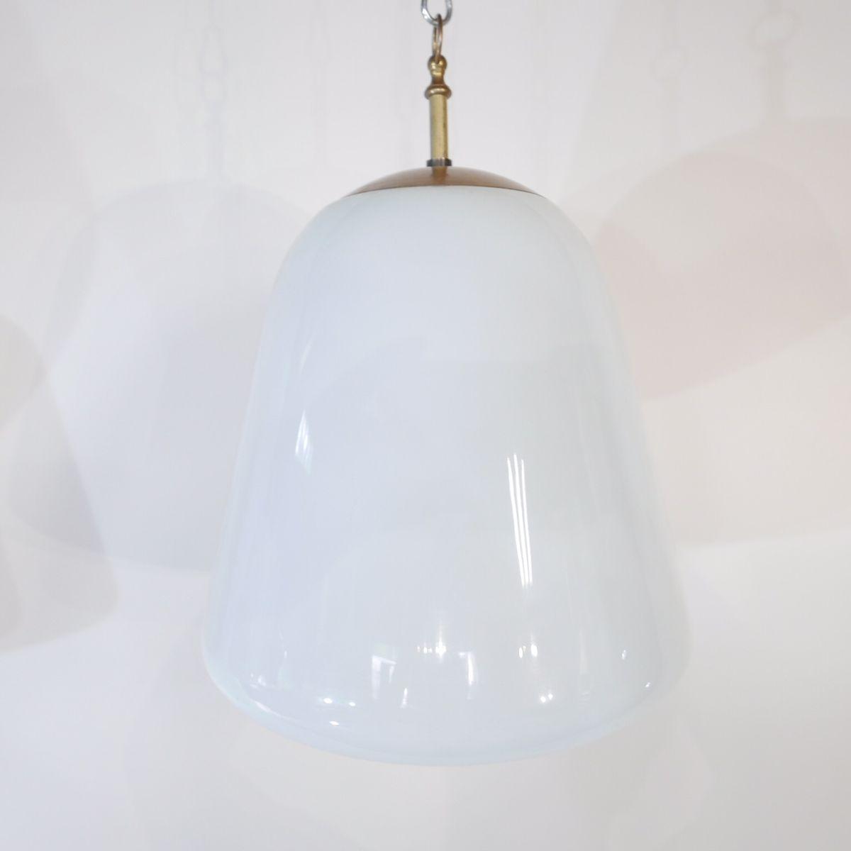 Vintage Opaline Pendant