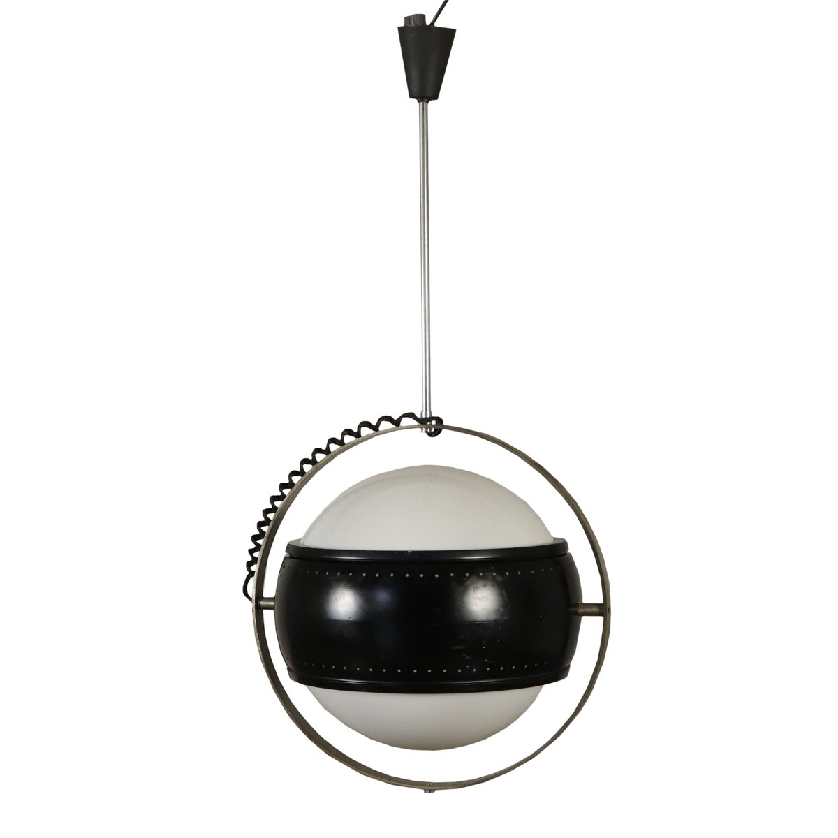 Vintage Deckenlampe aus Metall & Aluminium, 1960er
