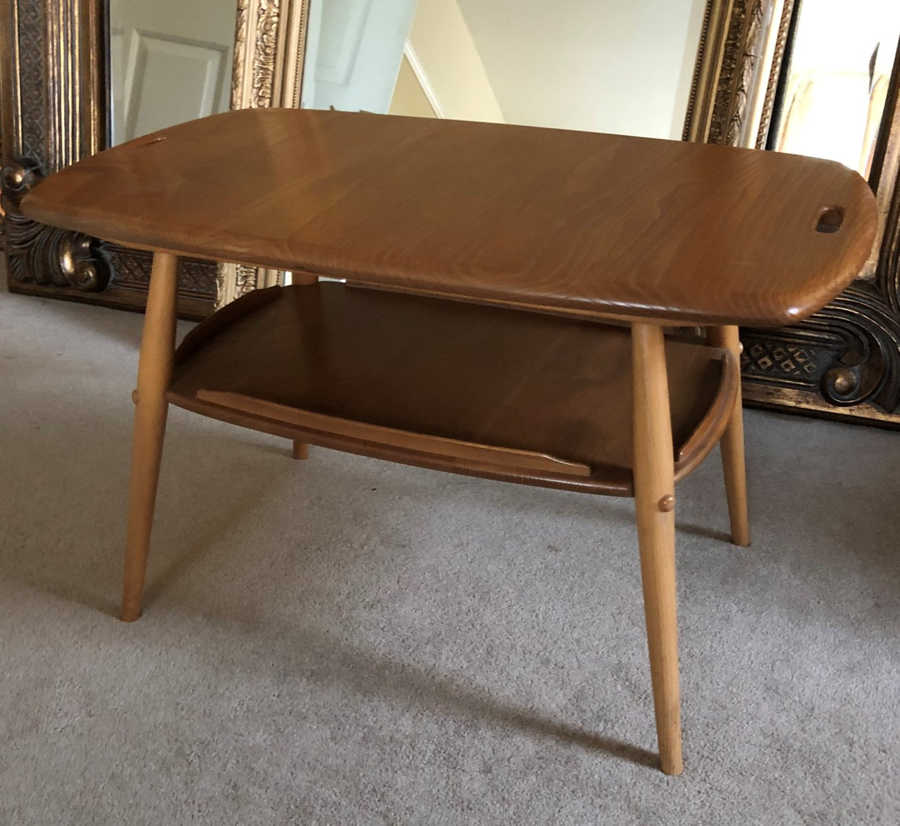 Vintage Ercol Coffee Tables For Sale: Vintage All Purpose Coffee Table By Lucian Ercolani For