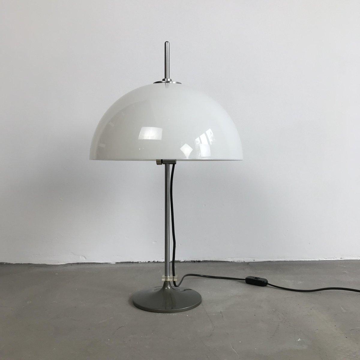 Niederländische Tischlampe von Gino Sarfatti für Gepo, 1970er
