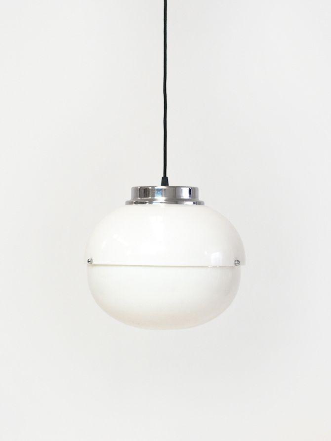 Spherical Methacrylate Ceiling Lamp by L. Bandini Buti for Kartell, 19...