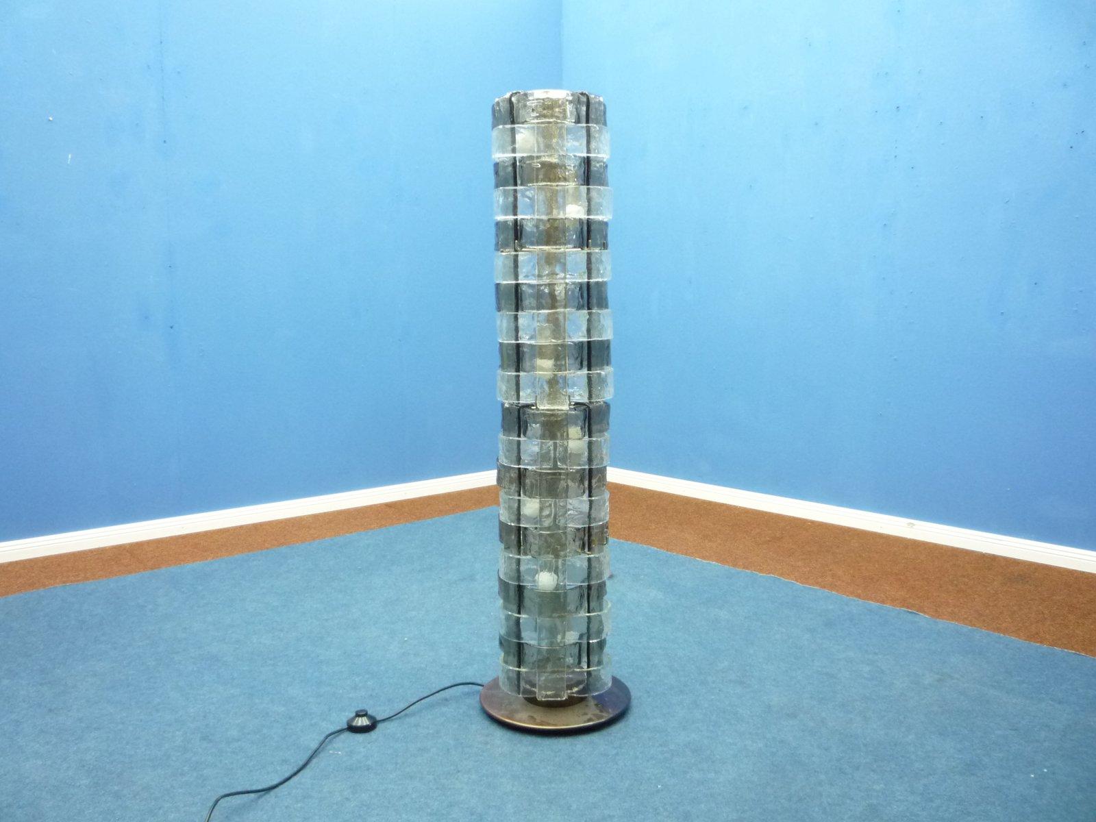 Italian Floor Lamp by Carlo Nason for Mazzega, 1969
