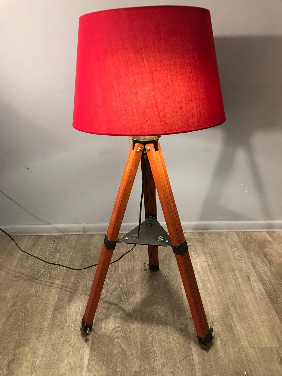 Polish Tripod Floor Lamp, 1980s